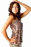 trendig kvinna Royaltyfria Foton