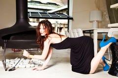 trendig kvinna Royaltyfri Fotografi