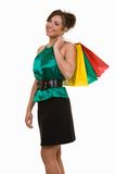 trendig shoppare royaltyfria foton