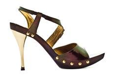 trendiga skor Fotografering för Bildbyråer