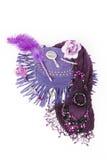Trendigt accesory för ung kvinna Arkivbilder
