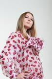 trendigt kvinnabarn Fotografering för Bildbyråer