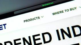 TRENDnet公司网站主页 关闭Trendnet商标 影视素材