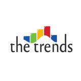 The trends. Showing graph or statistics Stock Image