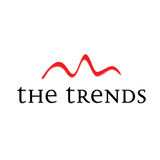 The trends. Showing graph or statistics Royalty Free Stock Photography