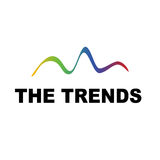 The trends. Showing graph or statistics Royalty Free Stock Images