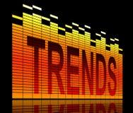 Trends concept. Stock Photos