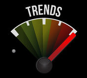 Trends cycle sign concept illustration Stock Photography