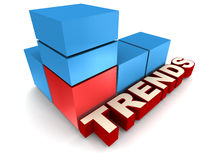 Trends Stock Photo