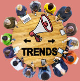 Trends Fashion Update Modern Contemporary Cocept.  stock image