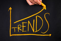 Trends Royalty Free Stock Photo