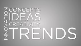 Trends and innovation stock video footage