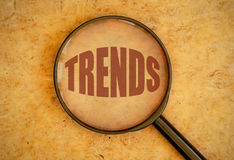 Trends Royalty Free Stock Images