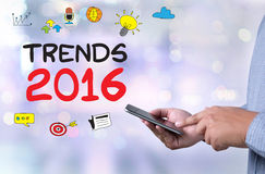 TRENDS 2016 Royalty Free Stock Photos