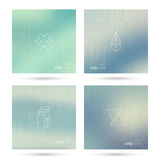 Trendy abstract background. Stock Images