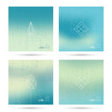 Trendy abstract background. Royalty Free Stock Image