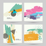 Trendy abstract background. Royalty Free Stock Photos