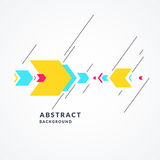 Trendy abstract background. Composition of geometric shapes. Vector illustration stock illustration