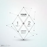 Trendy Abstract Vector Design Royalty Free Stock Image