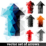 Trendy arrows Royalty Free Stock Images