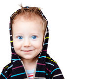Trendy baby boy Royalty Free Stock Photos