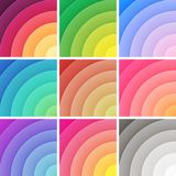 Trendy backgrounds pack colorful gradients. Vector Stock Photo
