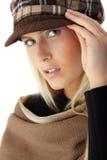 Trendy beauty in autumn royalty free stock photos