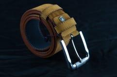 White backround belt stock photo