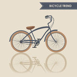 Trendy bike Royalty Free Stock Images