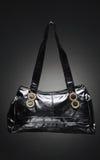 Trendy black purse Royalty Free Stock Image