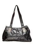 Trendy black purse Stock Images