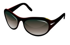 Trendy black sunglasses Royalty Free Stock Images