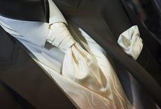 Trendy black wedding tuxedo royalty free stock images