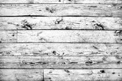 Trendy black and white high contrast wooden background or texture. Desaturated hdr image royalty free stock photography