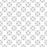 Trendy black-white seamless pattern with swirls. Background for business cards Royalty Free Stock Photos