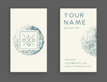 Trendy business card Royalty Free Stock Images