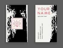 Trendy business card Royalty Free Stock Photo