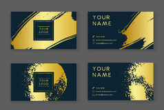 Trendy business card Royalty Free Stock Photos