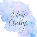 Trendy calligraphic quote Royalty Free Stock Photo