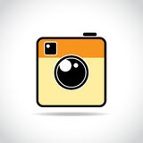 Trendy camera icon Stock Images