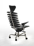 Trendy chair. Stylish contemporary office chair over white Royalty Free Stock Image