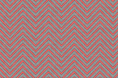 Trendy chevron pattern red and grey Royalty Free Stock Image