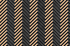 Trendy Chevron Patterned Background Royalty Free Stock Photos