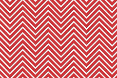 Trendy Chevron Patterned Background R&W Royalty Free Stock Photo