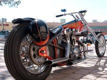 Trendy chopper bike. High power Harley Davidson Stock Photo