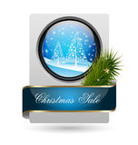 Trendy Christmas Sale Card Stock Image