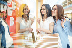 Trendy clothes Stock Image
