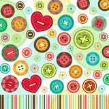 Trendy colored  background of set buttons vector Royalty Free Stock Photos