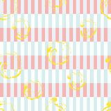 Stripes memphis style seamless pattern. Trendy colorful geometrical print. abstract background. 1980s style design vector illustration