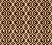 Trendy, contemporary ethnic seamless pattern. royalty free illustration